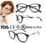 高品質のWmoenのための円形の接眼レンズフレームEyewear