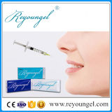 Remplissage cutané acide facial de Hyaluronate pour le perfectionnement de languette