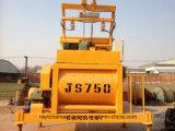 Mélangeur concret Js750 d'axe jumel de qualité