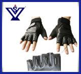カムフラージュ半分指の警察の戦術的な手袋(SYPG-888)