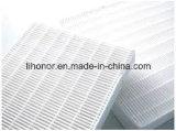 Nonwoven ткань фильтра ткани HEPA (99.5%)