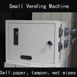 Pequeña máquina expendedora mecánica toallitas húmedas