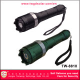Aluminiumlegierung-Spannungs-Elektroschock-Taschenlampe (TW-8810)