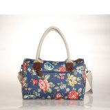 Rétro sacs à main floraux de sac d'épaule de type européen imperméable à l'eau de PVC (99210)