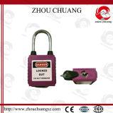 Padlock стальной безопасности сережки пылезащитный с ключевой системой