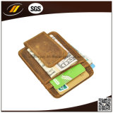 Preiswerter Leder Identifikation-Karten-Kasten, lederner Kreditkarte-Halter