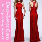 Maxi robe de soirée de robe de bal d'étudiants de partie de nouvelles dames de mode