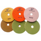 Apollo Diamond Soft Polishing Pad Pavimento em mármore