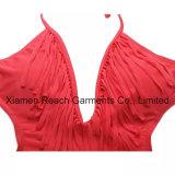 Bikiní de una pieza de Monokini del desgaste de la natación del traje de baño de la mujer atractiva de la manera