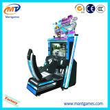 Тип HD видео- имитатора машины игры участвуя в гонке автомобиля управляя Outrun 2012