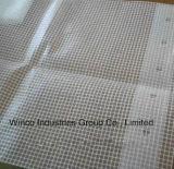 Bâche de protection claire de gaze de feuille de roulis