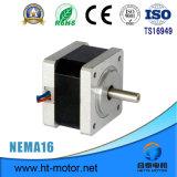 Elektrischer unipolarer hybrider Steppermikromotor Hochleistungs- NEMA-23
