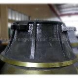 Desgaste e peças sobresselentes elevados do triturador do cone do OEM do aço de manganês