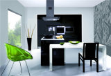 インテリア・デザインMDFの現代食器棚の販売
