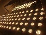 Shell de plata del proyector 500lumens del LED GU10 6X1w