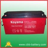 bateria profunda do AGM do ciclo de 12V 150ah para solar/telecomunicações