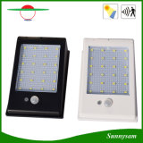 La iluminación al aire libre impermeabiliza 24 luces al aire libre de la energía solar PIR del LED 400lm de movimiento del sensor del jardín de la lámpara sin hilos de la seguridad