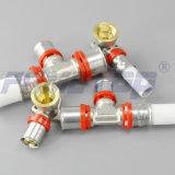 Pex 알루미늄 Pex 관을%s 토륨 압박 이음쇠를 타자를 치십시오