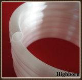 Bobina helicoidal opaca de venda superior da tubulação da câmara de ar de vidro de quartzo para a venda