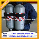 CCS & EC Approval Air Respirator con Double Cylinder