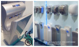 Essiccatore ad alta velocità automatico elettrico della mano del getto della stanza da bagno AK2030 con il filtro da HEPA, luce UV, CB di RoHS del CE dell'UL