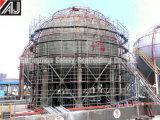 Guangzhou fabrique un système d'échafaudage en acier galvanisé en anneau pour un projet de construction de bâtiments