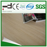 Plancher en bois gravé en relief de stratifié à la maison gris de décoration