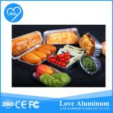 음식을 감싸기를 위한 처분할 수 있는 알루미늄 호일 콘테이너