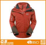 Люди 3 в 1 куртке зимы теплой