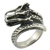 Anel do costume do anel do crânio da jóia do aço inoxidável