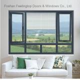 Het Openslaand raam van het aluminium voor Allerlei De Bouw (voet-W70)