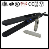 Private Label (V179)를 가진 LCD Lockable 450f Steam Hair Straightener