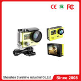 2 ScreensおよびVideo HD 1080P 60 Frames Video 360 Degreeの4k 30m Waterproof Action Sports Camera H8r