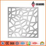 Qualidade excelente! Da grade à prova de fogo do CNC de Ideabond material composto de alumínio