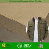 Tela polivinílica del estiramiento con el diseño bicolor para la chaqueta de los hombres