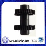 Черная шестерня Plastic/POM