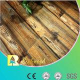 assoalho laminado impermeável da faia da textura do Woodgrain de 12.3mm