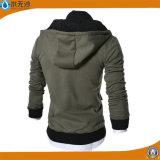 La mode 100% de Hoodies de coton d'hommes Outwear la couche Hoodie chaud
