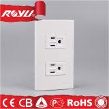 Plot électrique du pouvoir 2 de mur multiple télécommandé de Pin