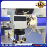Машина маркировки лазера волокна мухы цены по прейскуранту завода-изготовителя оптически для медного /Titanium /Steel/ABS/Pes