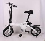 12 дюйма Partable складывая электрический велосипед с съемной батареей