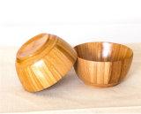 Cuvettes respectueuses de l'environnement de vaisselle de cuvette de bébé de vaisselle en bois