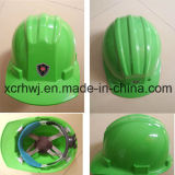 ABS Construção industrial Capacete de Segurança Verde, Ce Marca Capacete de Segurança EN 397 para industrial, Segurança Bump Cap Ce Certified