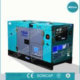 gerador de potência Diesel de refrigeração água do motor de 15kVA Isuzu