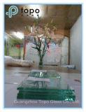 glace isolée parFer clair de 1.9mm-25mm pour la vitrine d'exposition, etc. (W-TP)