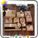 Contenitore di carta personalizzato di qualità superiore di regalo di natale del contenitore di regalo di disegno