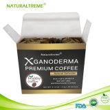 Etiqueta confidencial do café de Ganoderma do fornecedor do café da saúde da goma-arábica