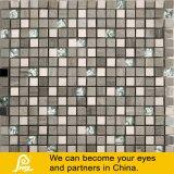 Mosaico de Piedra con Metal y Cristal 8mm