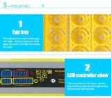Incubadora automática do ovo da galinha de Hhd que choca a máquina para a venda Yz8-48)