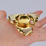Fileur en cristal de main de personne remuante de jouet de doigt de fileur de main de crocodile de diamant